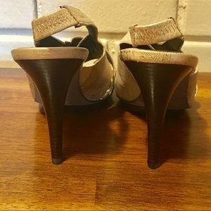 Donald J. Pliner Shoes - Donald J. Pliner  Muted Gold Slingback Sandals 8.5